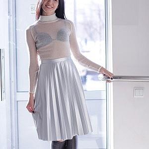 serebristaya-yubka-gofre-purity-fashion-studio