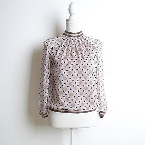 блуза горошки шелк Ungaro зёpurity fashion studio