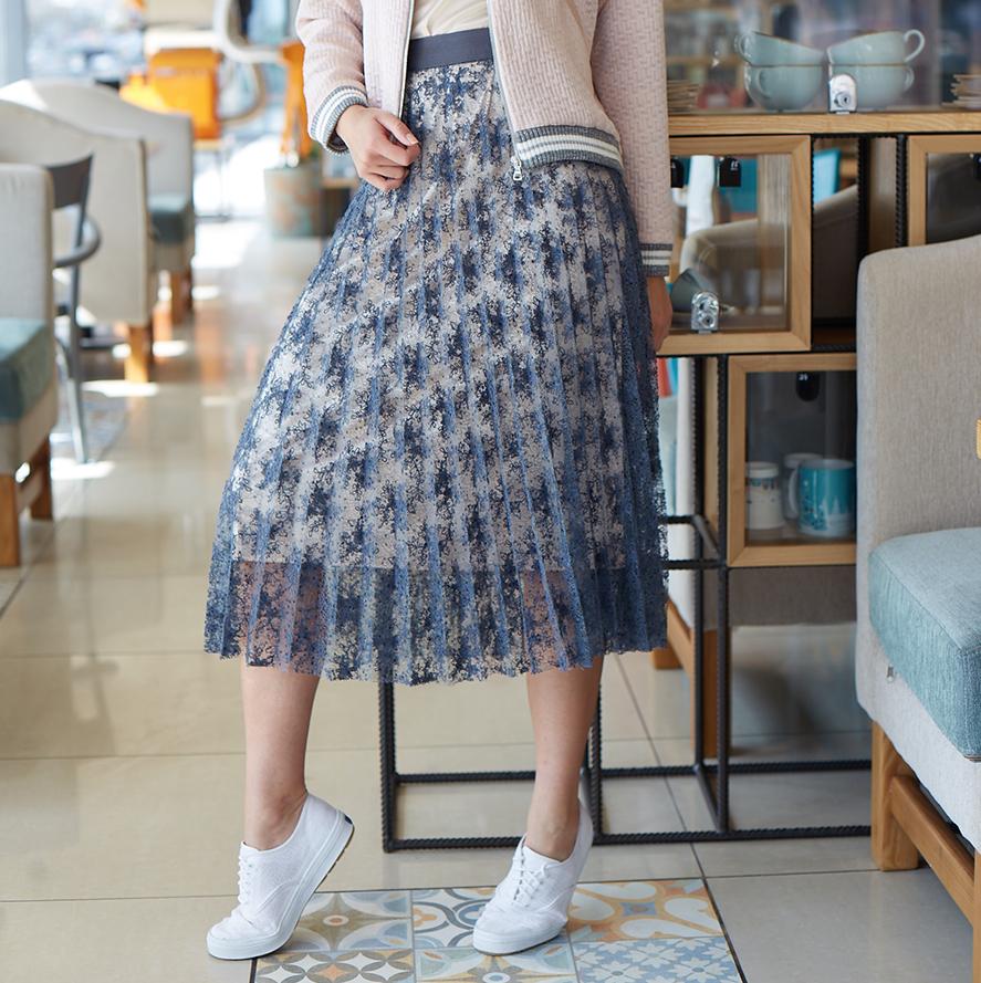 Пошив гипюровой юбки