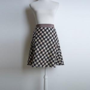 (59:16_3) юбка гусиная лапка ткань от Chanel purity_fashion_studio 2