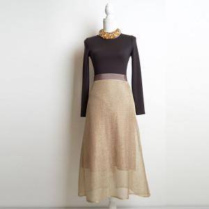 (58:16_3) юбка золотая трапеция purity_fashion_studio 6