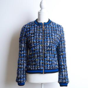 (8:16_6) бомбер синий ткань от Chanel purity_fashion_studio 2
