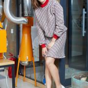 (21:16_6) свитшот сине-красный из рогожки от BluMarine purity_fashion_studio 6