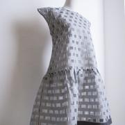 (63_16_1,64_16_1) платье с воланом из жакарда деворе_3