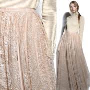 юбка в пол с сиянием